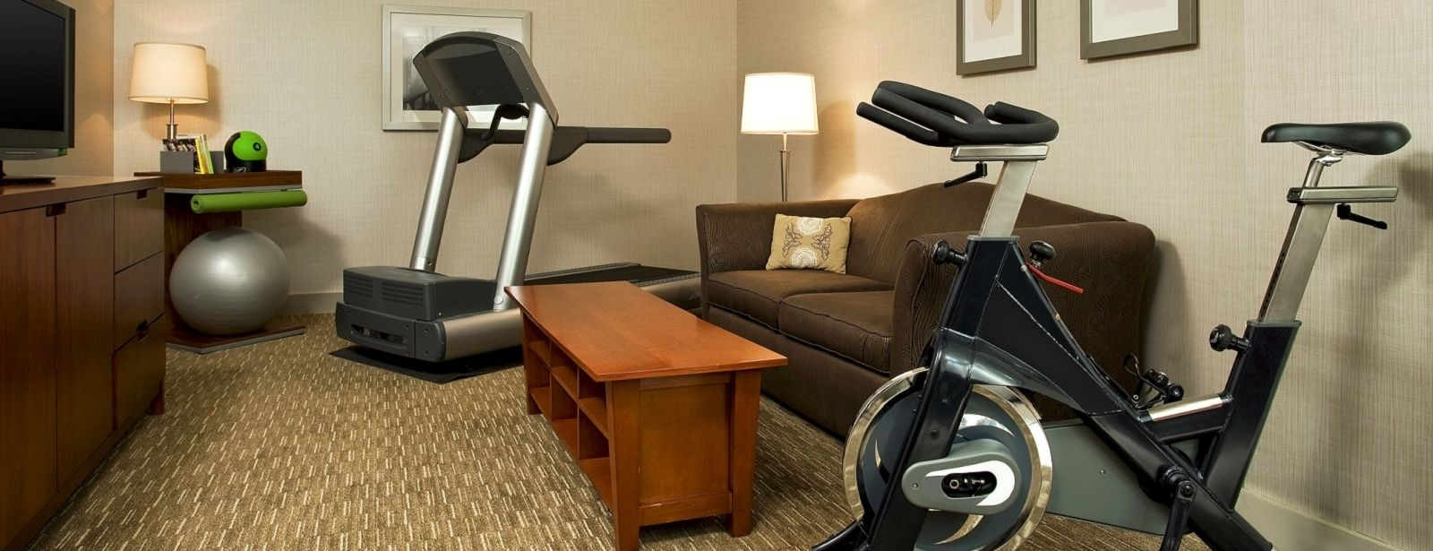 Lombard Hotel Rooms - WestinWORKOUT Rooms